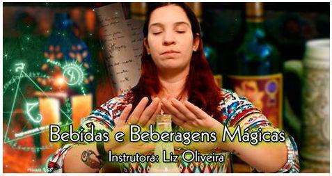 Divulgação do Curso de Bebidas e Beberagens Mágicas no EADeptus, 2015 terapeuta docente / professor(a) massoterapeuta massagista aromaterapeuta estudante (maquiador) assistente maquiador(a)