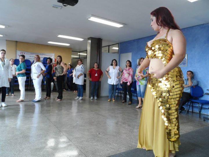 Workshop de Dança do Ventre; Hospital São Matheus, 2014 terapeuta docente / professor(a) massoterapeuta massagista aromaterapeuta estudante (maquiador) assistente maquiador(a)