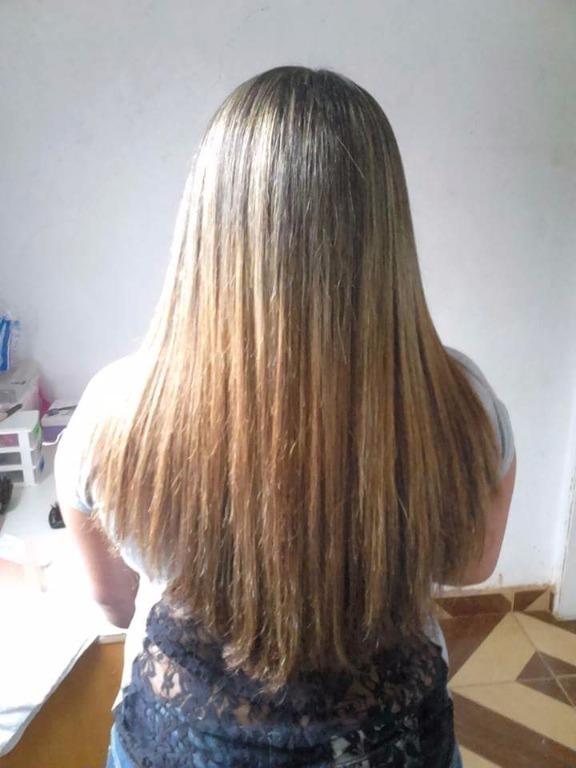 Escova simples cabelo cabeleireiro(a) auxiliar cabeleireiro(a)