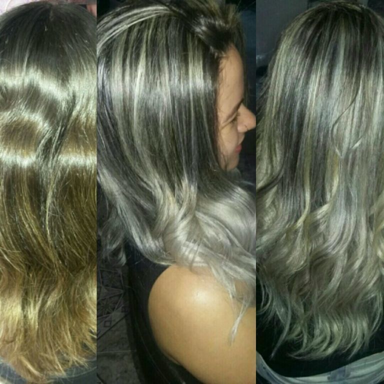 Mechas e Ombré Hair  matizadaa. cabelo cabeleireiro(a)