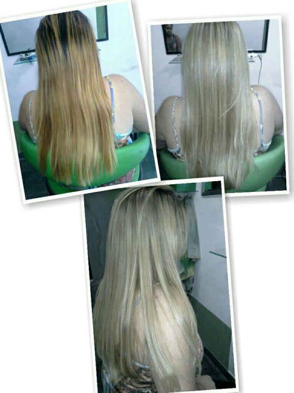Loiro Perola lindo By Fran Leite cabelo cabeleireiro(a) designer de sobrancelhas maquiador(a)