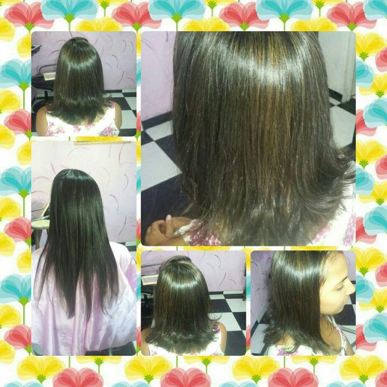 Corte e iluminação  da cor cabelo cabeleireiro(a) maquiador(a) outros