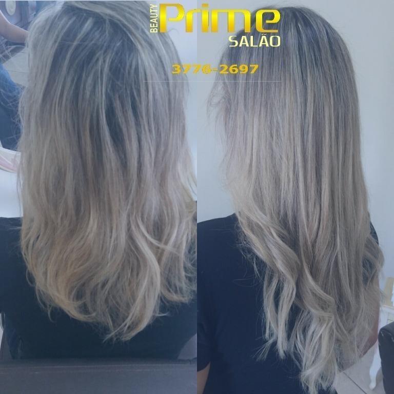 Foi mega hair e tonalizacao para uniformizar a cor cabeleireiro(a)