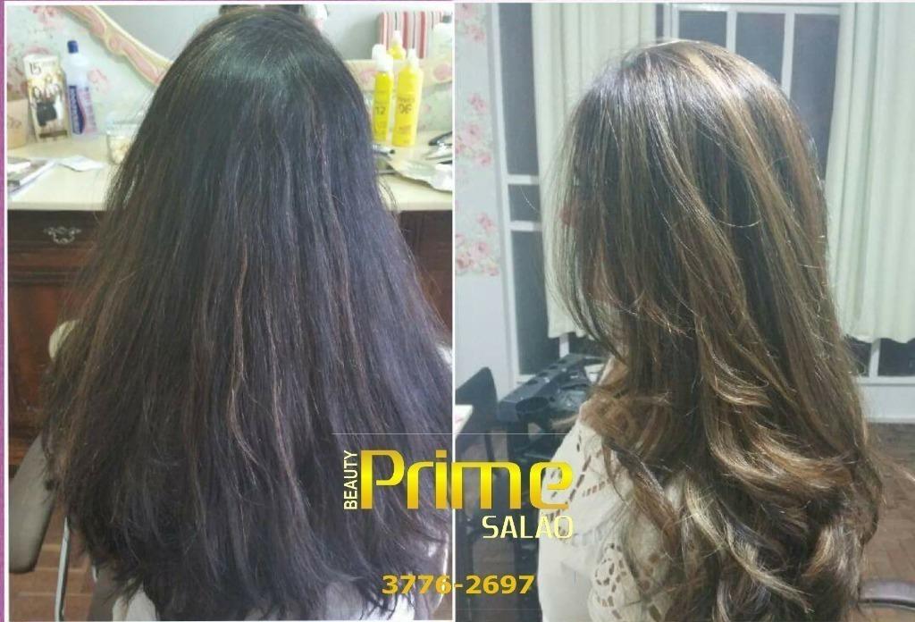 Balayagem com ombre cabeleireiro(a)