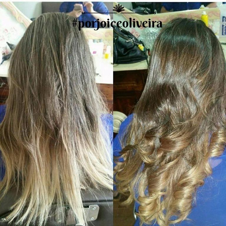 Correção de cor e ombrehair cabeleireiro(a)