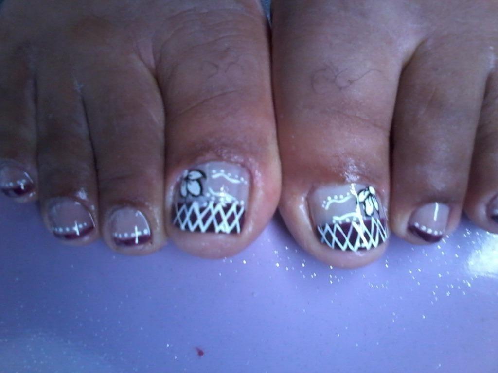 Unhas decoradas por mim. manicure e pedicure