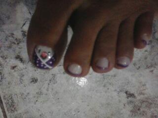 Unhas decoradas por mim manicure e pedicure