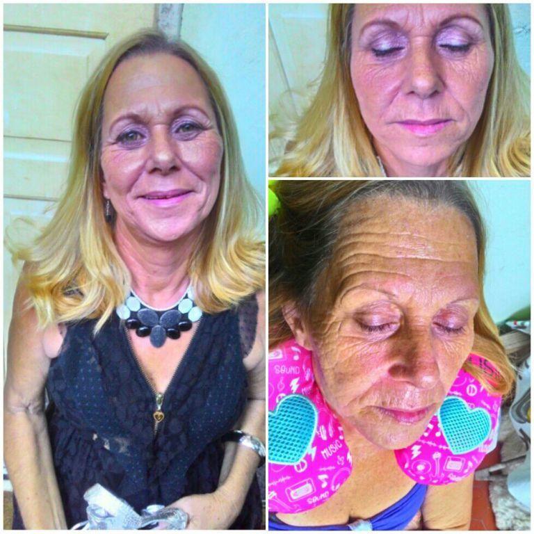Ainda sobre os trabalhos do fim de semana .  #pelemadura  #make maquiagem maquiador(a)