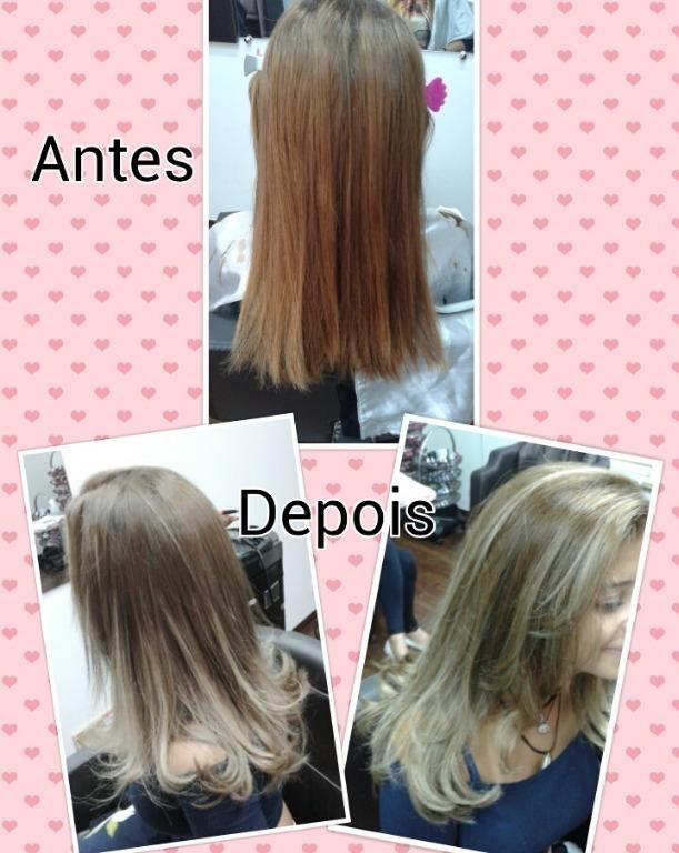 Correção da cor e ombre hair ♥♡
