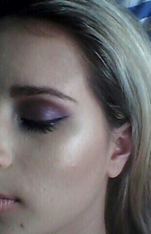 Purple+ cat eyes maquiagem maquiador(a) esteticista cosmetólogo(a)