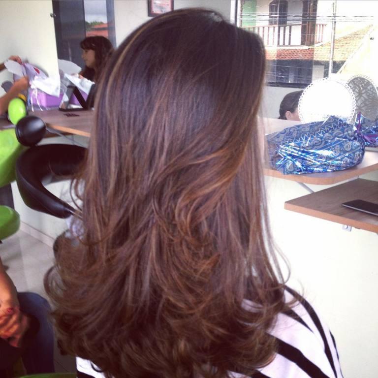 #escova modelada  cabeleireiro(a)