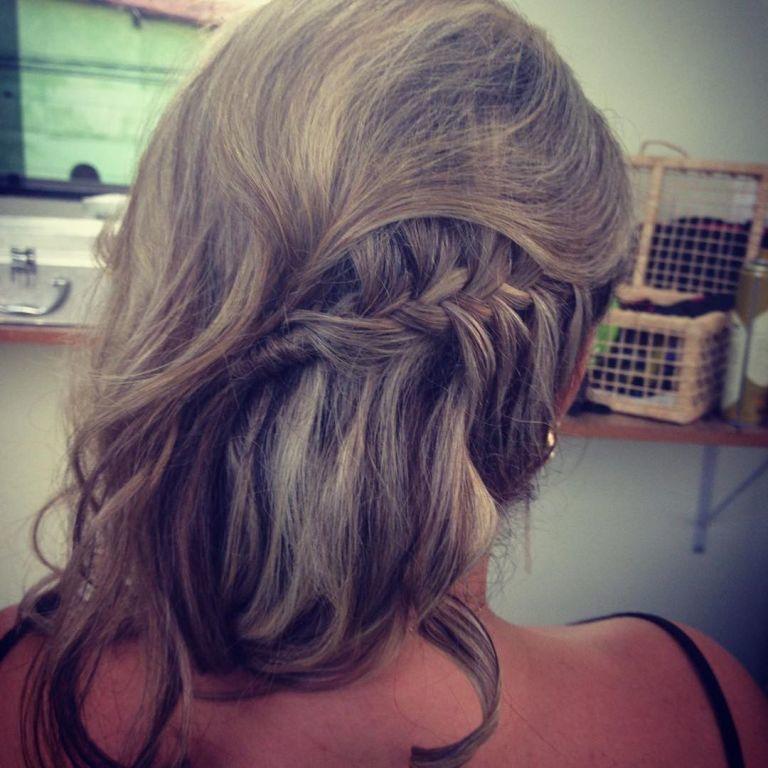 #penteado #trança cabeleireiro(a)
