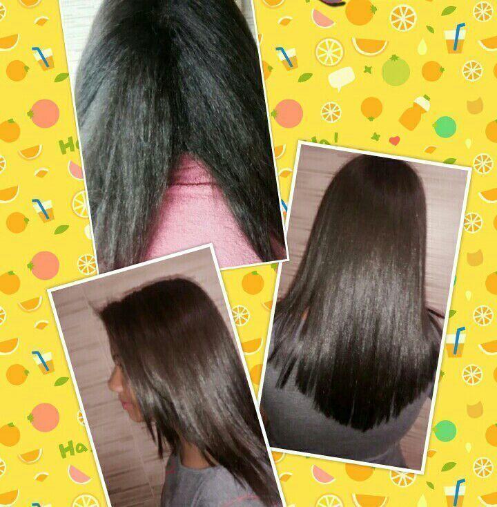Progressiva antes e depois! cabelo cabeleireiro(a) designer de sobrancelhas maquiador(a)