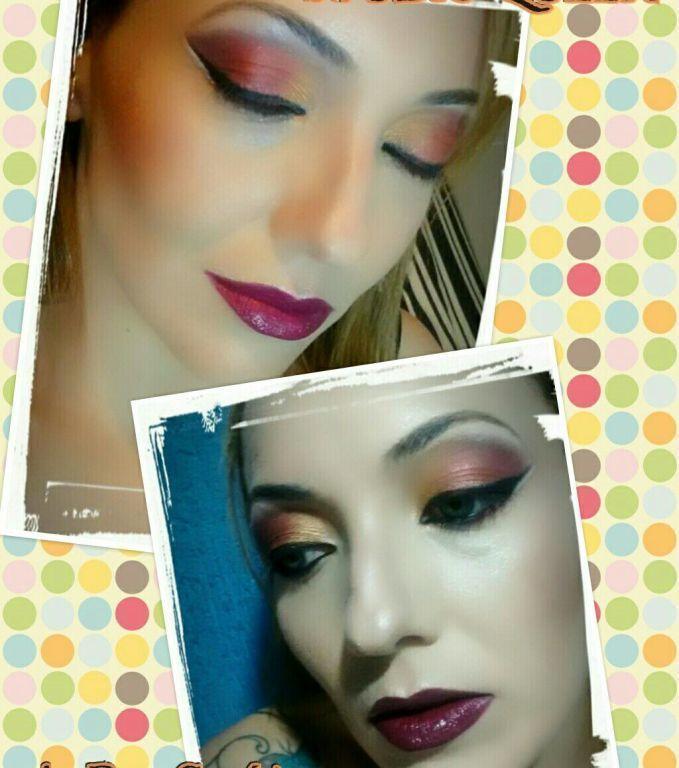 Maquiagem dramática! maquiagem cabeleireiro(a) designer de sobrancelhas maquiador(a)