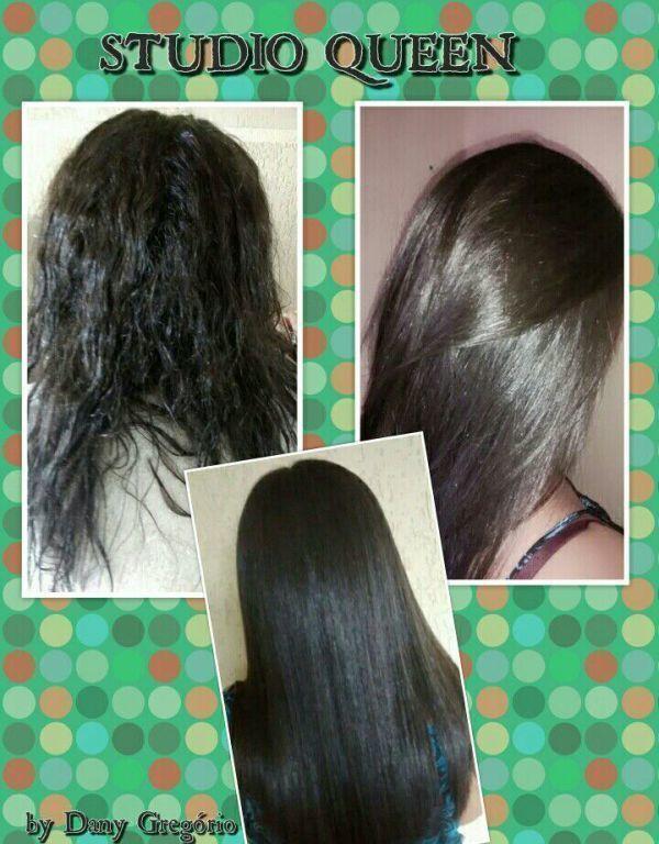 Progressiva e corte! Antes e depois cabelo cabeleireiro(a) designer de sobrancelhas maquiador(a)