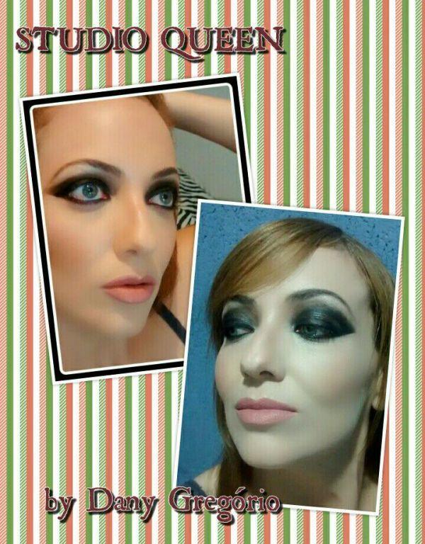 Maquiagem dramática maquiagem cabeleireiro(a) designer de sobrancelhas maquiador(a)
