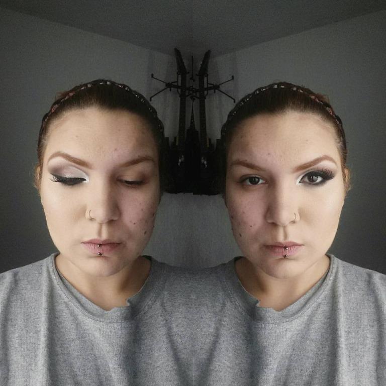O  poder  da  maquiagem, antes e  depois. Cobertura  de pele  com acne utilizando somente produtos  NACIONAIS  e de QUALIDADE! #MAKEUP #beauty #cutcrease #fullcoverage #skinperfection #thepowerofmakeup #  maquiador(a)