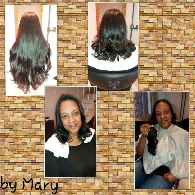 Corte e boa ação. .. cabelo cabeleireiro(a)