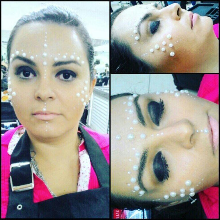 Maquiagem conceitual !  #moda #conceitual #makeupartistc maquiagem maquiador(a)