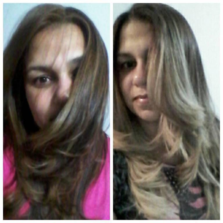 Perfeito. #Luzes #Platinado  cabeleireiro(a) designer de sobrancelhas maquiador(a)