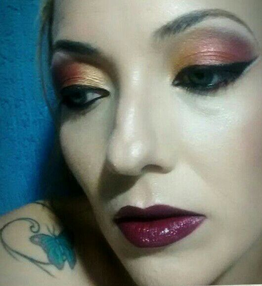 Maquiagem color total! maquiagem cabeleireiro(a) designer de sobrancelhas maquiador(a)