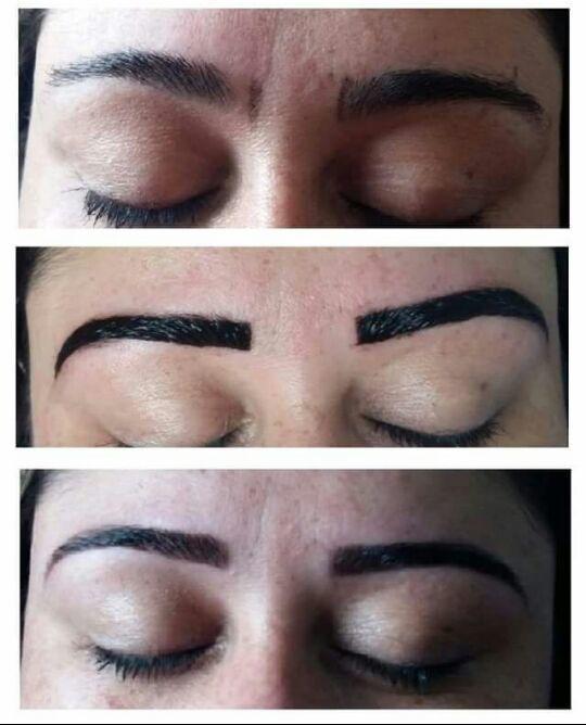 Design e sobrancelhas mais aplicação e henna para cobertura de falhas. estética manicure e pedicure depilador(a) designer de sobrancelhas recepcionista vendedor(a)