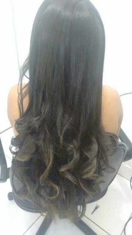 Escova cabelo cabeleireiro(a) manicure e pedicure maquiador(a)