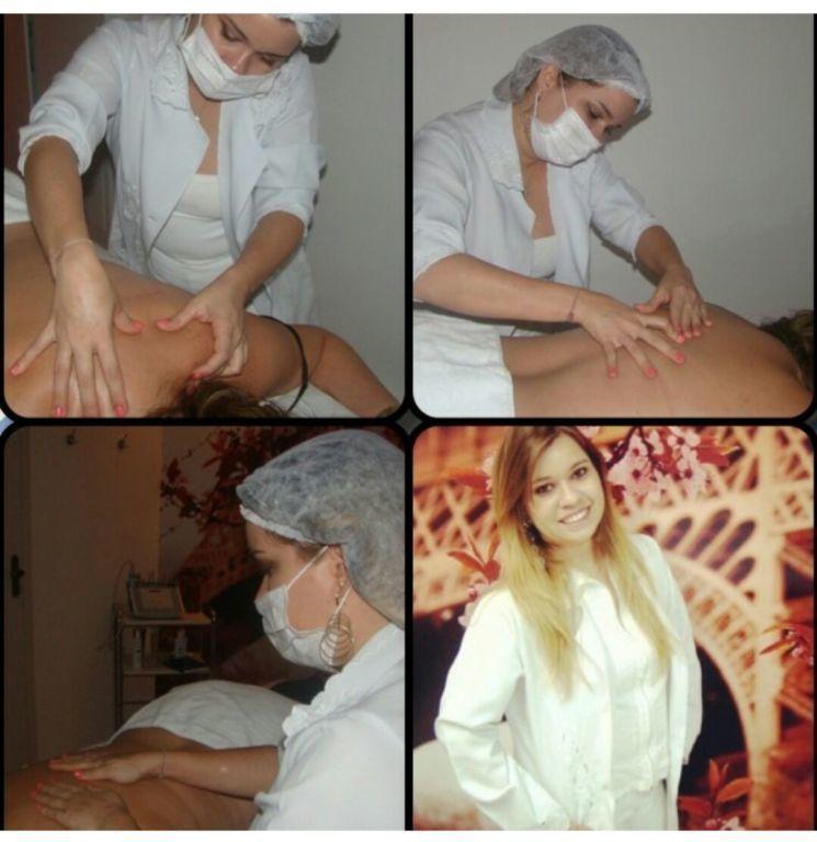 Massagem relaxante estética esteticista maquiador(a) massoterapeuta