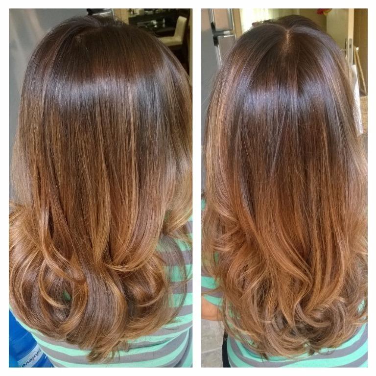 Beleza por Bruna New Ombré Hair avelã cabelo cabeleireiro(a)