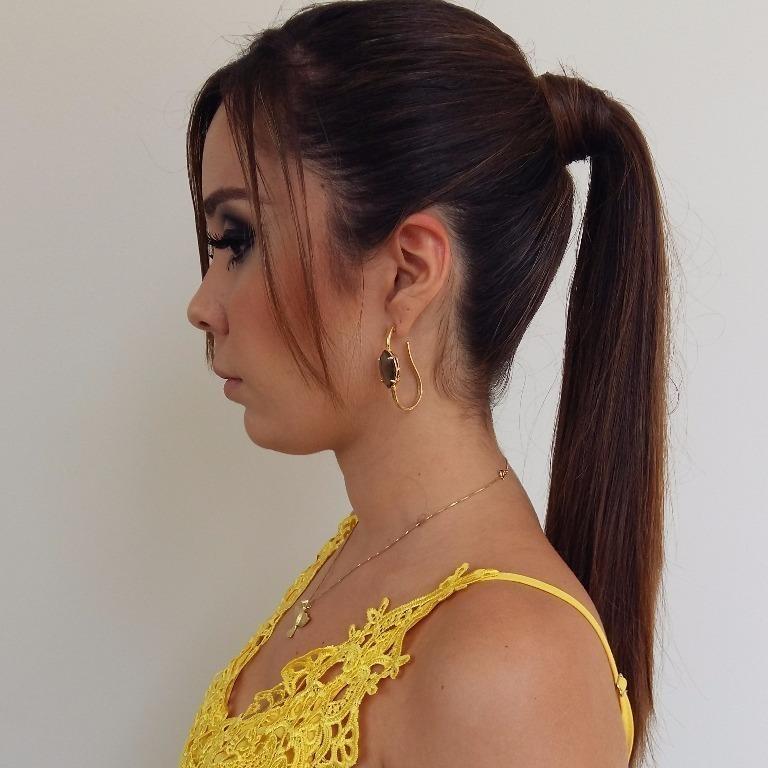 Penteado #simples#Chique#atual#rabo de cavalo#isabelcabelo #isabelhair  cabeleireiro(a)