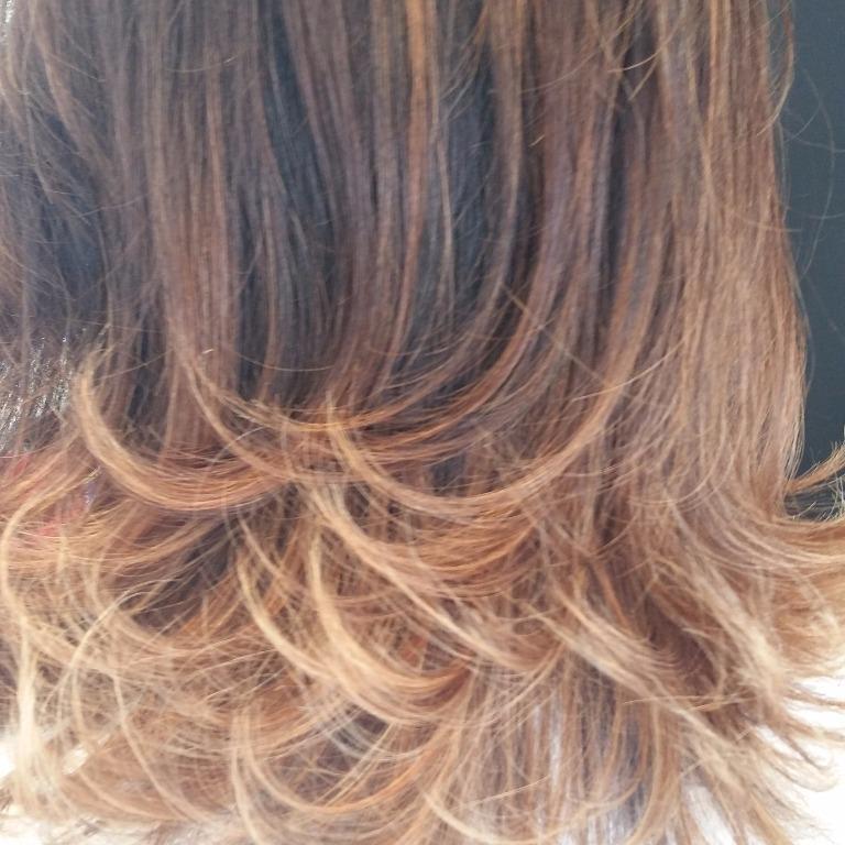 Mechas#caramel #super#tendência #isabelhair #isabelcabelo  cabeleireiro(a)