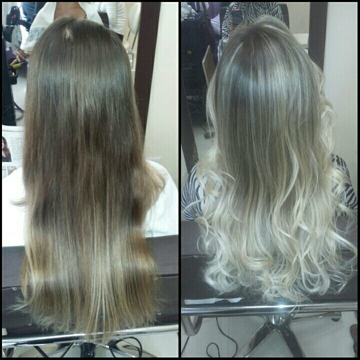 Ombré Hair - Pérola cabelo auxiliar cabeleireiro(a) cabeleireiro(a)