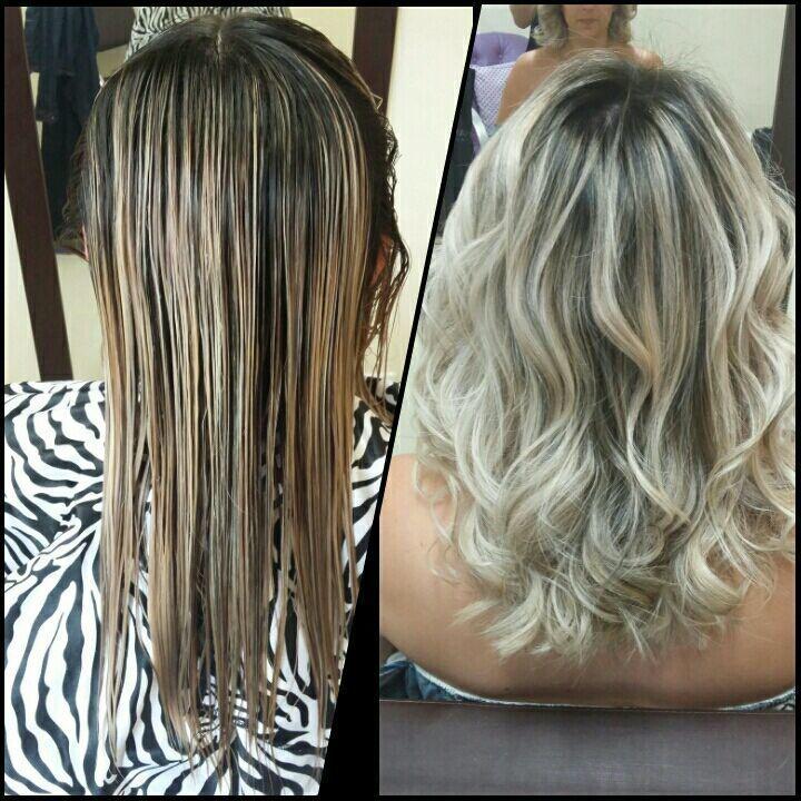 Matização e Corte cabelo auxiliar cabeleireiro(a) cabeleireiro(a)