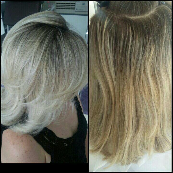 Mechas - Bege auxiliar cabeleireiro(a) cabeleireiro(a)