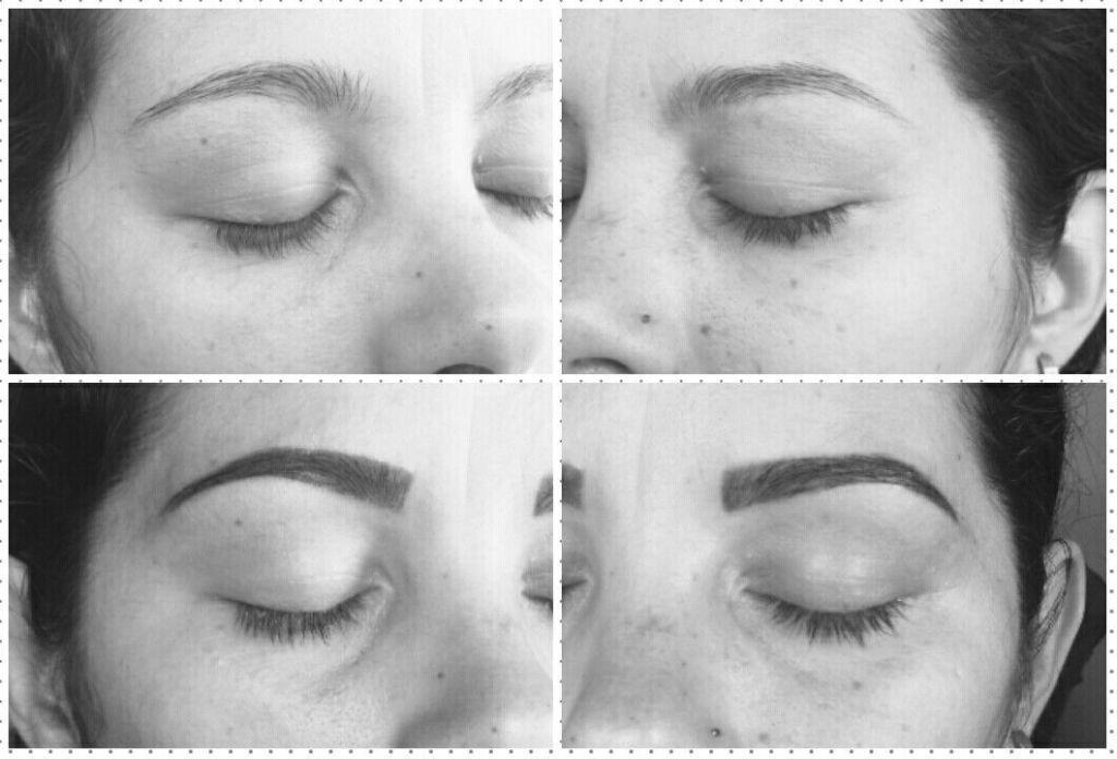 Design com aplicação de henna para realçar a cor das sobrancelhas outros designer de sobrancelhas auxiliar administrativo