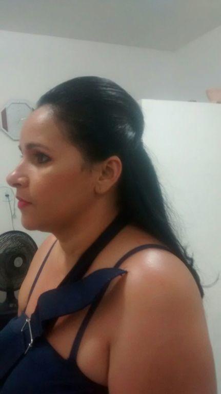 Moicano cabelo maquiagem unha cabeleireiro(a)