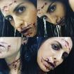 Maquiagem artística Halloween