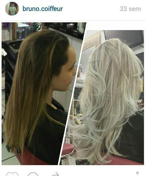 Cor & forma  antes e depois cabelo auxiliar cabeleireiro(a) cabeleireiro(a)
