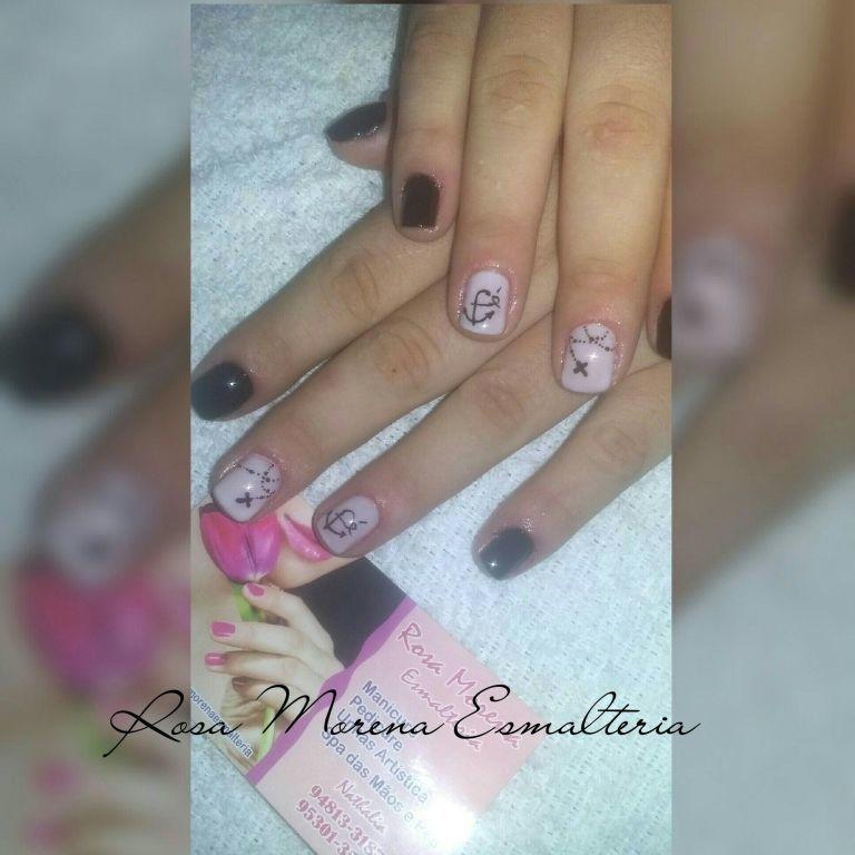 Unhas da minha cliente Taynara unha manicure e pedicure