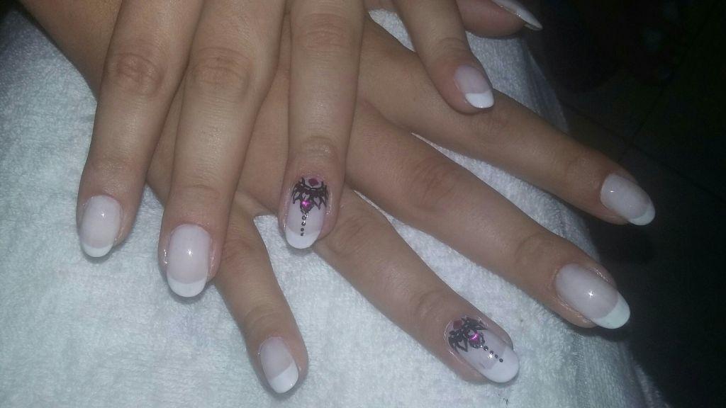 Unhas da minha cliente Gabriella unha manicure e pedicure