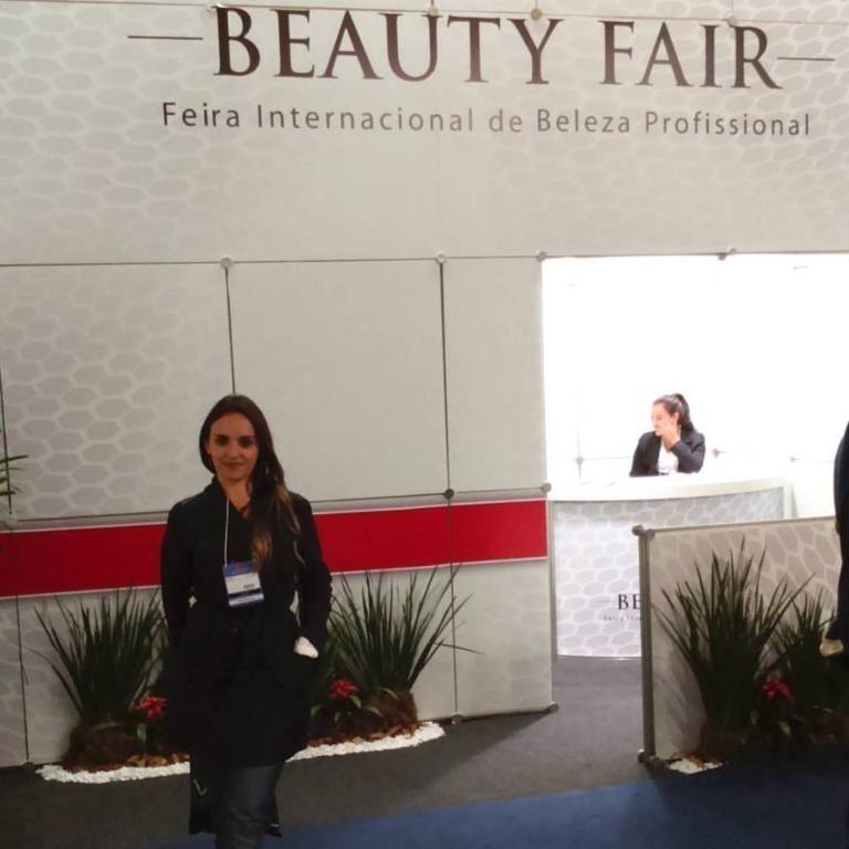 Agregando Conhecimentos na Feira  Beauty Fair esteticista