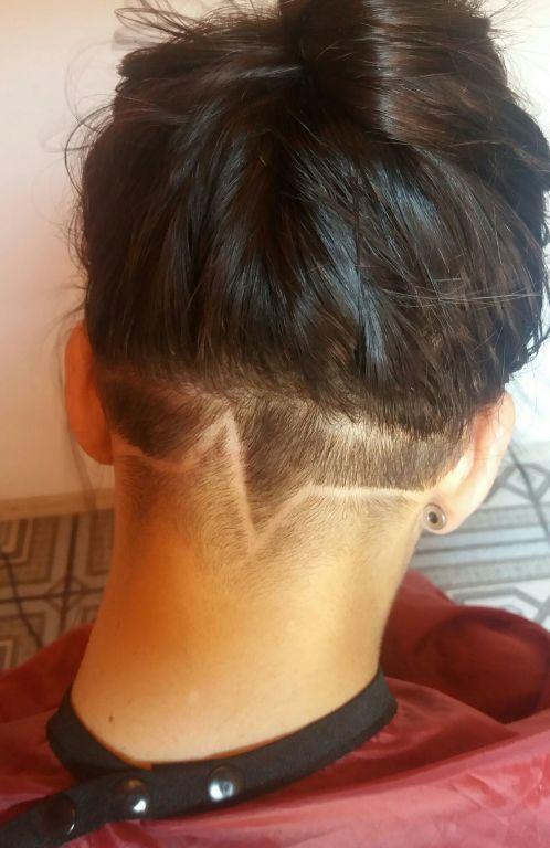 Hairtatoo cabelo estudante (cabeleireiro)
