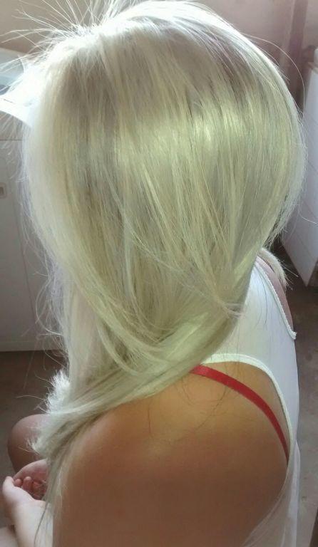 Luzes platinado  cabelo cabeleireiro(a)