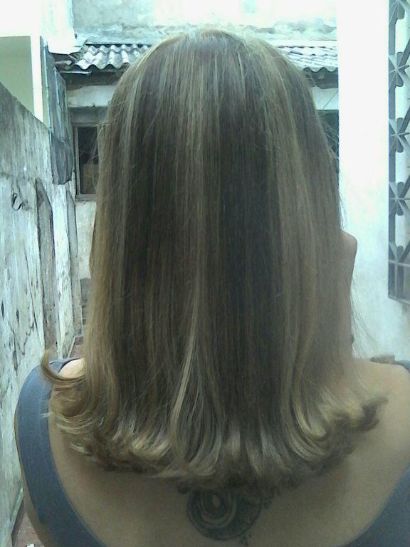 Mechas cabelo auxiliar cabeleireiro(a)