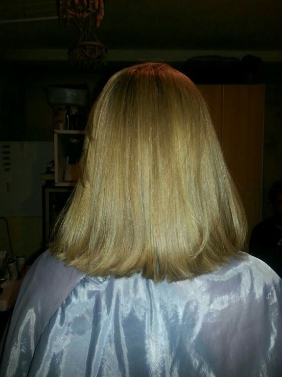 Corte e progressiva cabelo auxiliar cabeleireiro(a)