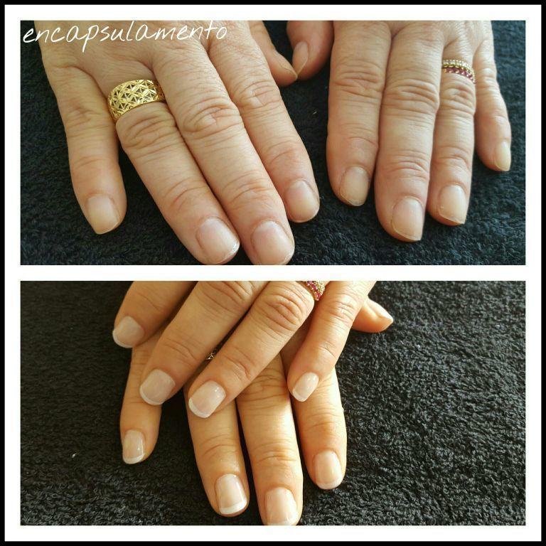 Encapsulamento em francesinha unha manicure e pedicure auxiliar cabeleireiro(a)