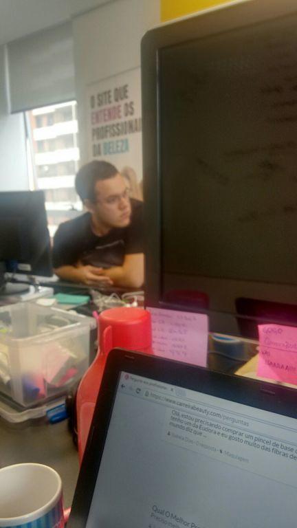 Lucas chato cabelo estudante manicure e pedicure