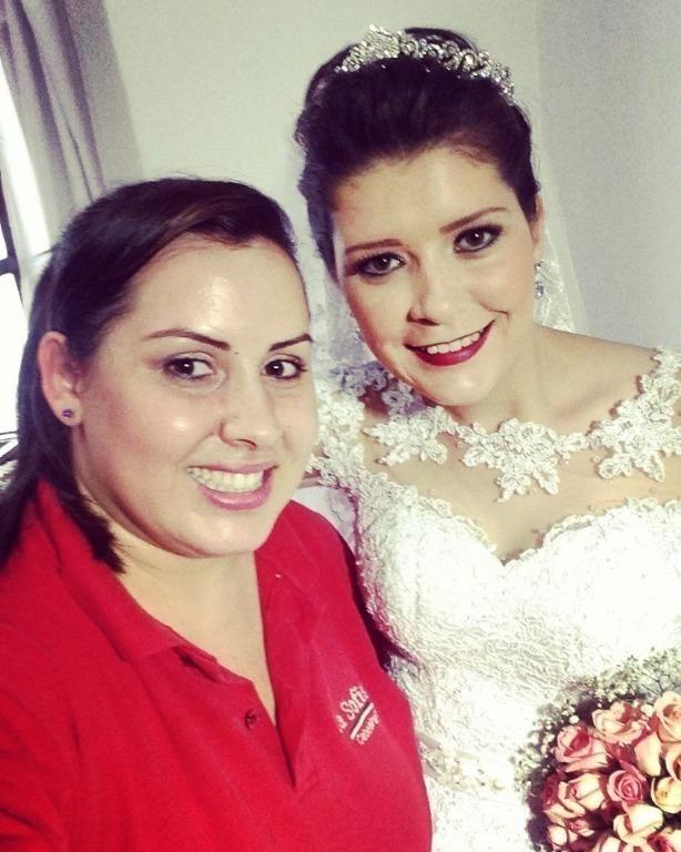 #noiva  hj é o dia dela cabeleireiro(a) designer de sobrancelhas