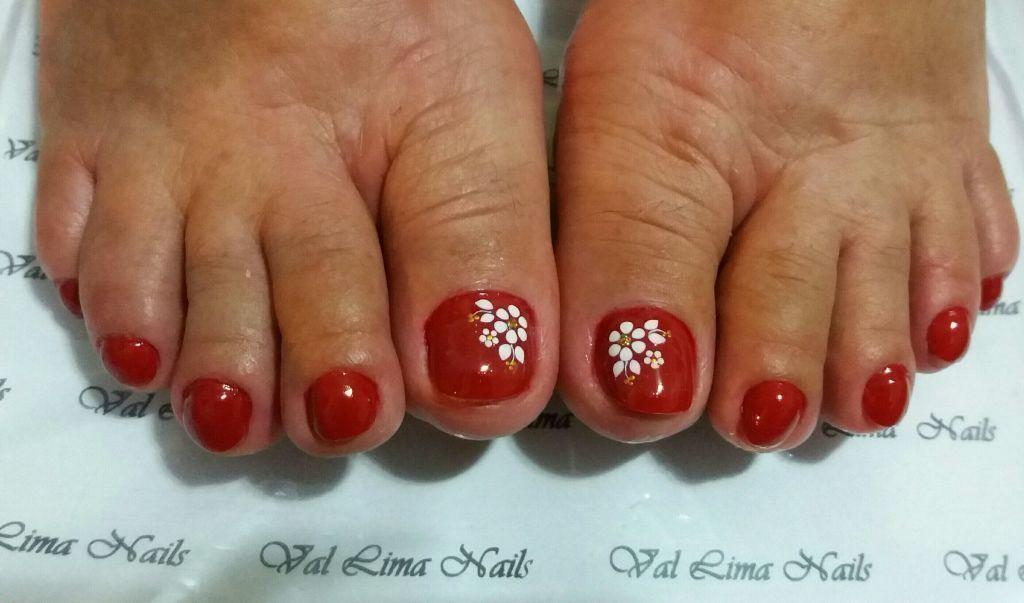 #esmaltacaope unha manicure e pedicure