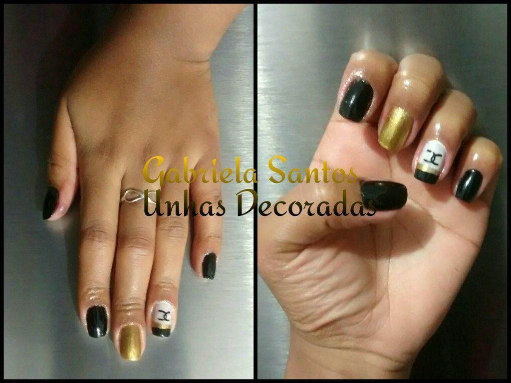 #Unhas_Decoradas #Chanel #Luxo unha manicure e pedicure